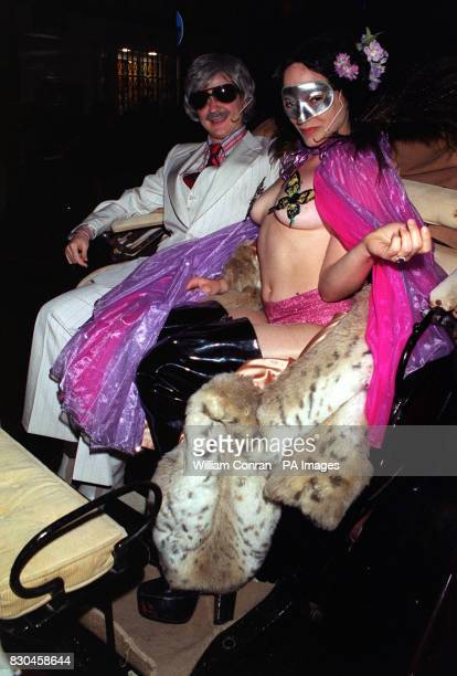Tytania and Oberon arrive at the Donkey Show A Midsummer Night's Dream disco at the Hanover Grand in London