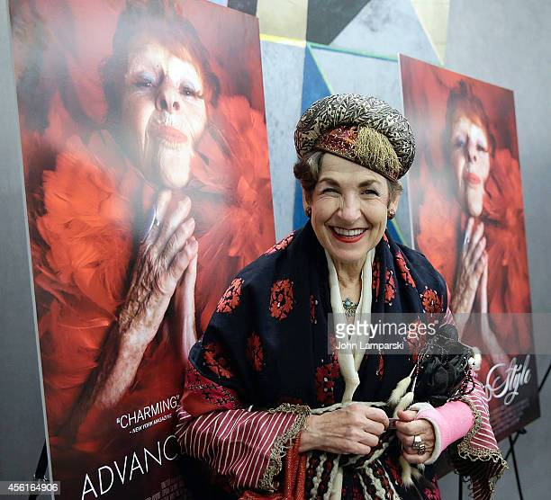 Tziporah Salamon attends 'Advanced Style' New York Screening at Quad Cinema on September 26 2014 in New York City