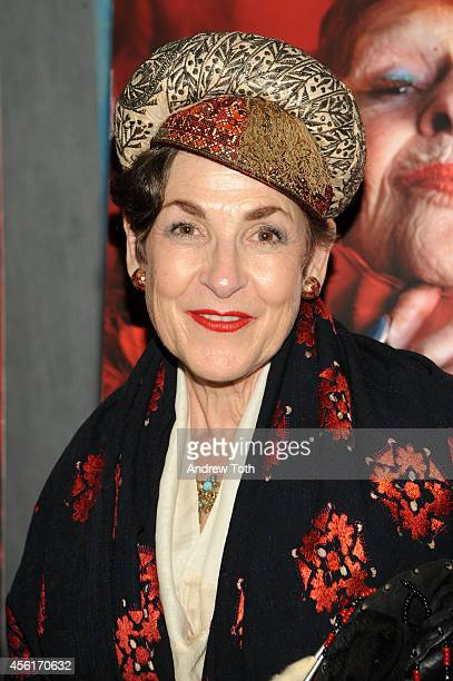 Tziporah Salamon attends the 'Advanced Style' New York screening at Quad Cinema on September 26 2014 in New York City