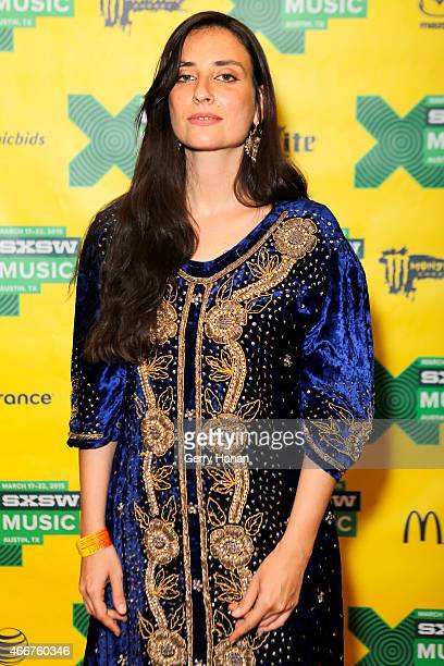 Tzipporah ElRei of Diwan Saz attends 'International Daystage' during the 2015 SXSW Music Film Interactive Festival at Austin Convention Center on...