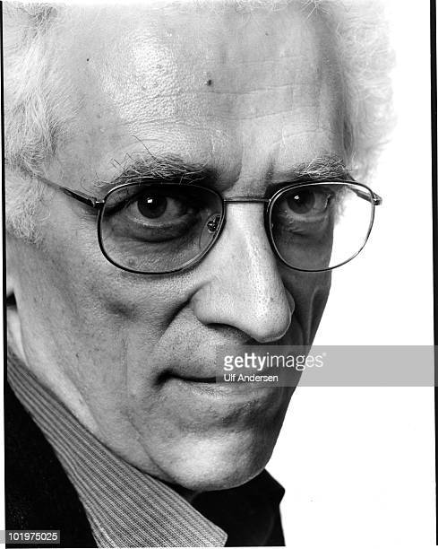 PARIS FRANCE OCTOBER 4 Tzvetan Todorov bulgarian born french philosopher during portrait session held on october 4 1991 in Paris France