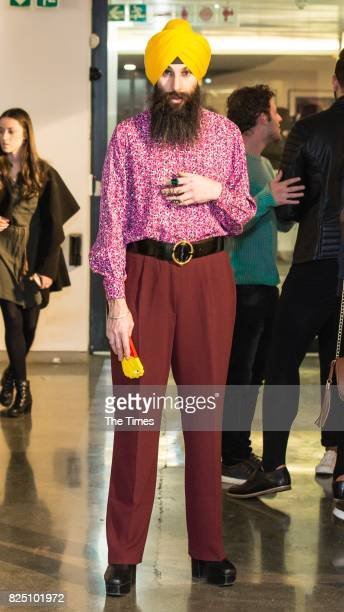 Tzvi Karp during the opening of the Andy Warhol exhibition at the Wits Art Museum on July 26 2017 in Johannesburg South Africa The exhibition is part...