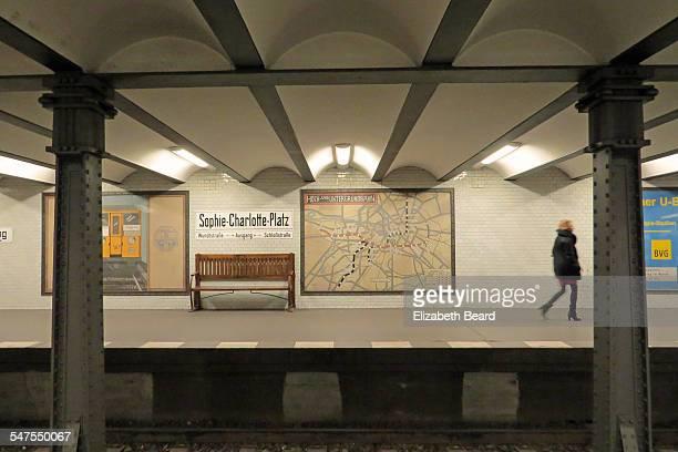U-Bahn station at Sophie-Charlotte-Platz, Berlin