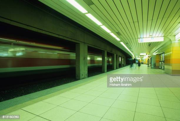 U-Bahn Station, Subway Station-Frankfurt, Germany