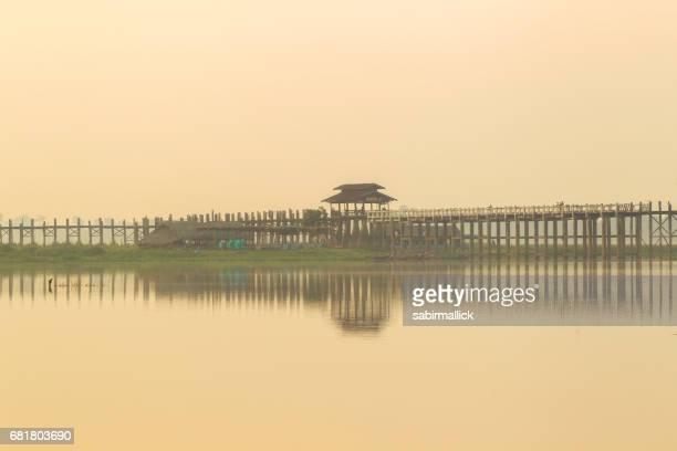 Ubein bridge -Mandalay,Myanmar.