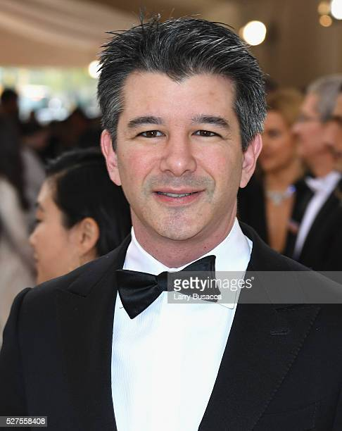 Uber CEO Travis Kalanick attends the 'Manus x Machina Fashion In An Age Of Technology' Costume Institute Gala at Metropolitan Museum of Art on May 2...