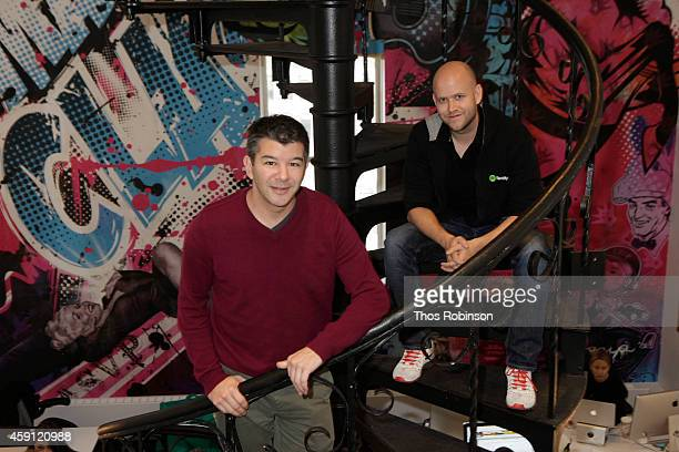 Uber CoFounder CEO Travis Kalanick and Spotify Founder CEO Daniel Ek today announced a new partnership enabling users to soundtrack their Uber ride...