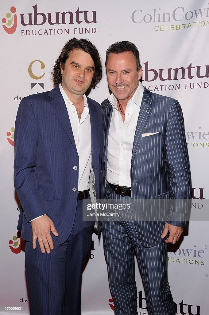 Ubuntu Education Fund Co-founder Jacob Lief and Lifestyle Guru and Party Planner Collin Cowie attend the Annual Ubuntu Education Fund NY Gala at Gotham Hall on June 6, 2013 in New York City.
