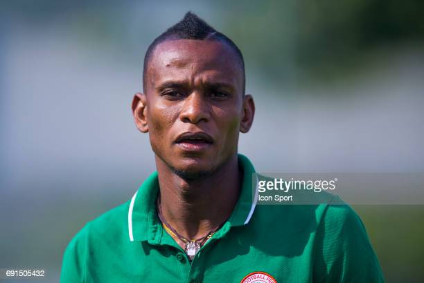 Uche Agbo of Nigeria during the soccer friendly match between Nigeria and Togo on June 1 2017 in St LeulaForet France
