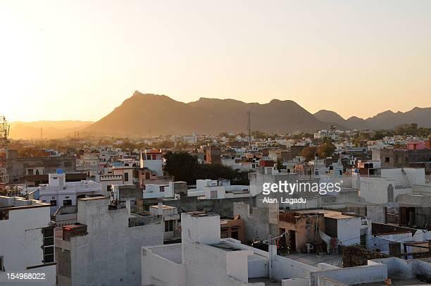 Udaipur skyline,Rajasthan,India.