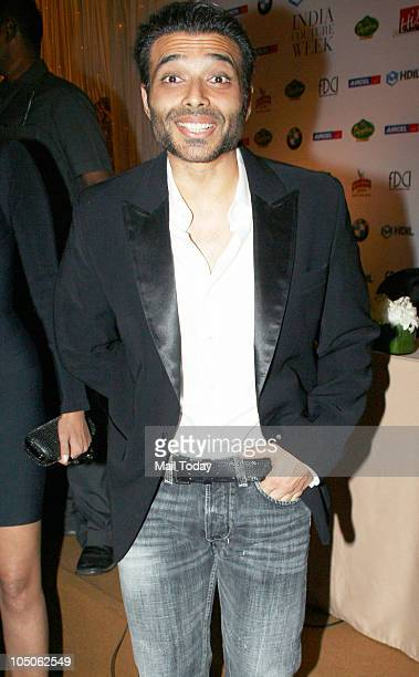 Uday Chopra at Day II of the HDIL Couture fashion week in Mumbai on October 7 2010