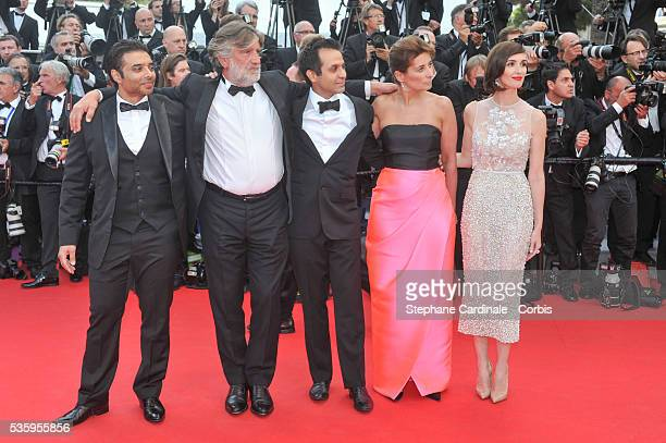 Uday Chopra Pierre Ange Le Pogam Arash Amel Guest and Paz Vega attend the Opening Ceremony and the 'Grace of Monaco' premiere during the 67th Cannes...