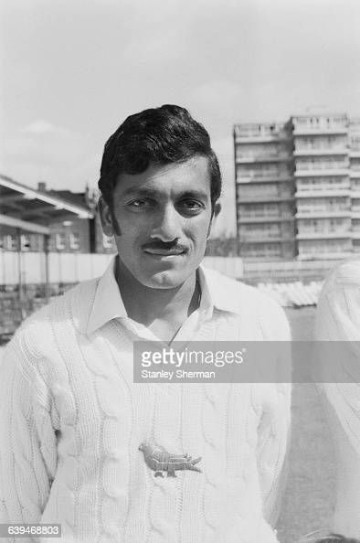 Uday Joshi of the Sussex County Cricket Club UK 28th April 1971