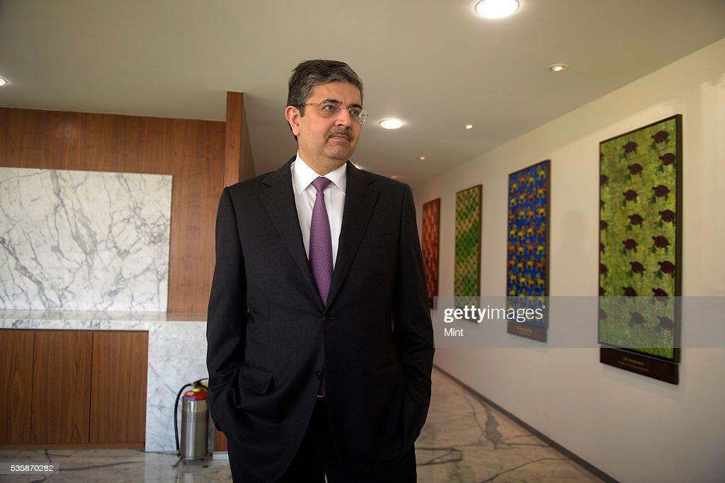 Uday Kotak, Executive Vice Chairman and Managing Director of Kotak Mahindra Bank, poses during an exclusive interview on December 4, 2015 in Mumbai, India.