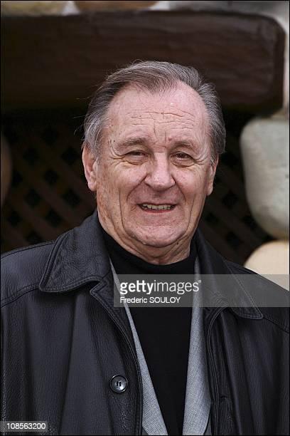 Uderzo in Paris France on April 03rd 2004