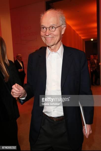 Udo Brandhorst during the PIN Party 'Let's party 4 art' at Pinakothek der Moderne on November 18 2017 in Munich Germany