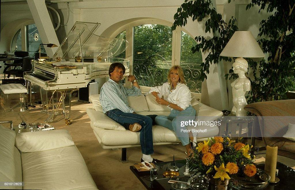 Udo Jrgens Corinna Reinhold Homestory Zrich Schweiz Europa Luxus