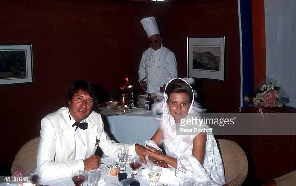 Udo Jürgens Tochter Jenny Hochzeitsreise von J e n n y J ü r g e n s Kreuzfahrt 'MS Europa' Norwegen