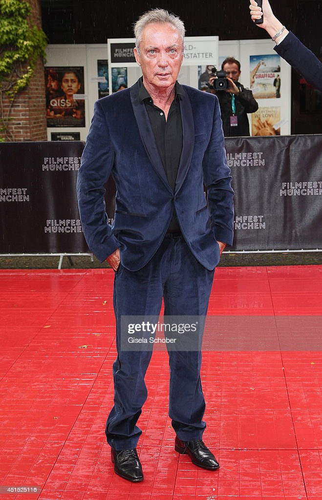 <a gi-track='captionPersonalityLinkClicked' href=/galleries/search?phrase=Udo+Kier&family=editorial&specificpeople=703878 ng-click='$event.stopPropagation()'>Udo Kier</a> attends the Cine Merit Award as part of Filmfest Muenchen at Carl-Orff-Saal on June 30, 2014 in Munich, Germany.