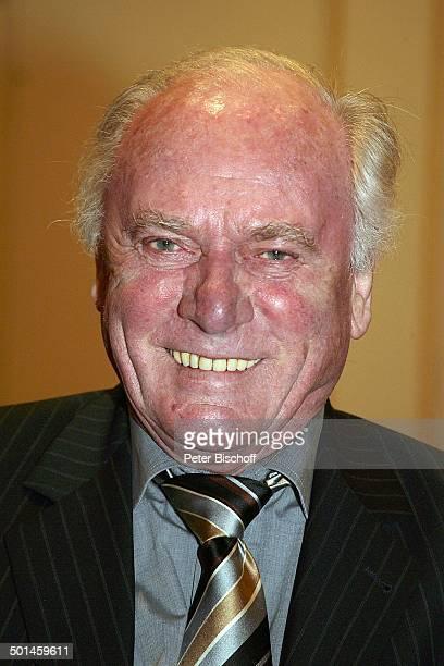 Udo Lattek Porträt Finale der 'Miss Germany'Wahl 2005 'Europa Park' Rust bei Freiburg BadenWürttemberg Deutschland Europa Glatze Promi BB CD PNr...