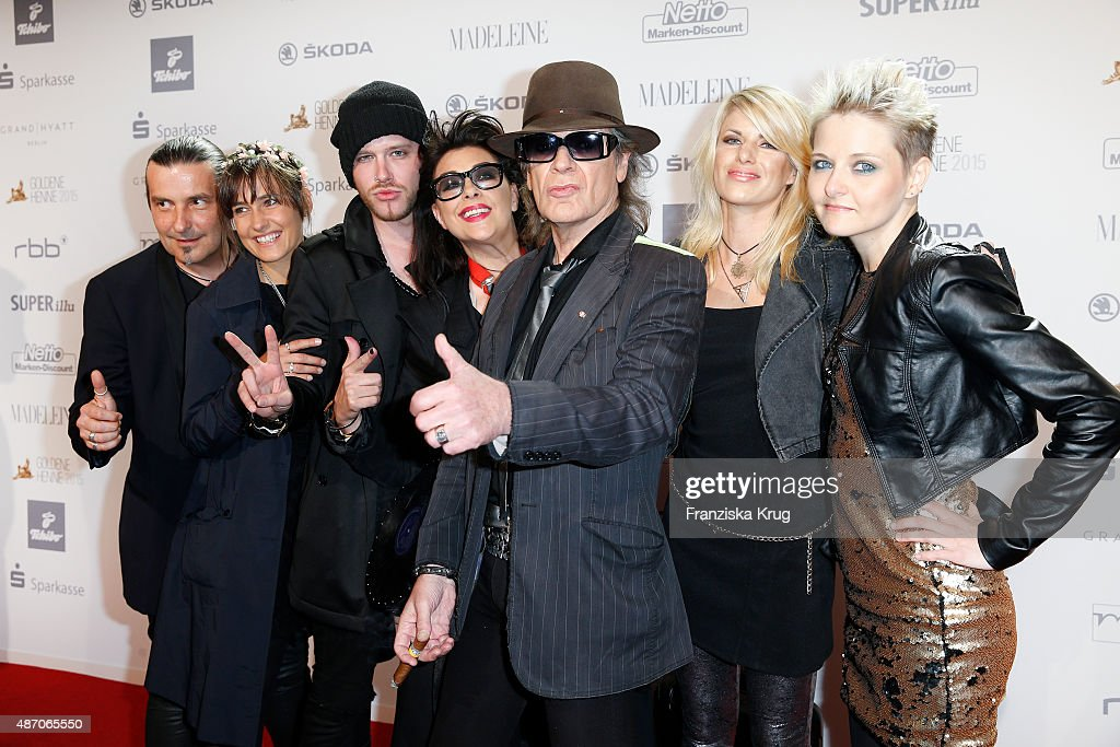 Udo Lindenberg and the Panik Band attend Madeleine At Goldene Henne 2015 on September 05 2015 in Berlin Germany