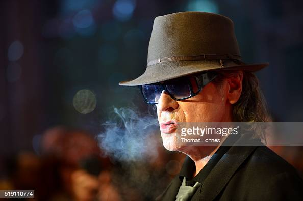 Udo Lindenberg attends the LEA Live Entertainment Award 2016 at Festhalle Frankfurt on April 4 2016 in Frankfurt am Main Germany