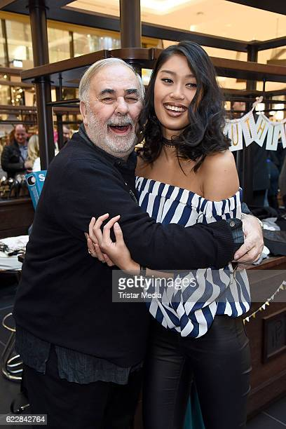 Udo Walz and Anuthida Ploypetch attend the VIP Flea Market on November 12 2016 in Berlin Germany