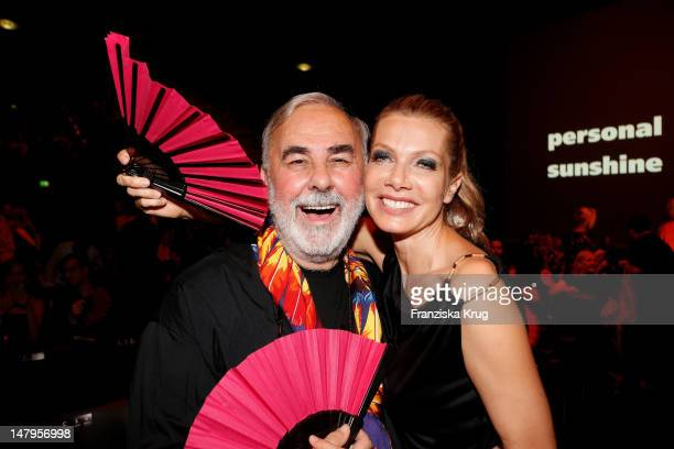 Udo Walz and Ursula Karven attend during the Michalsky Style Nite 2012 at MercedesBenz Fashion Week Berlin Spring/Summer 2013 at Tempodrom on July 6...