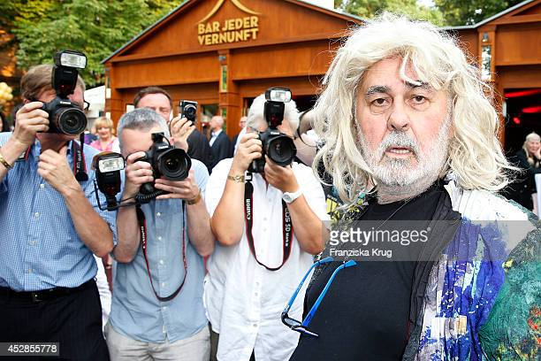 Udo Walz attends his 70th birthday celebration at Bar jeder Vernunft on July 28 2014 in Berlin Germany