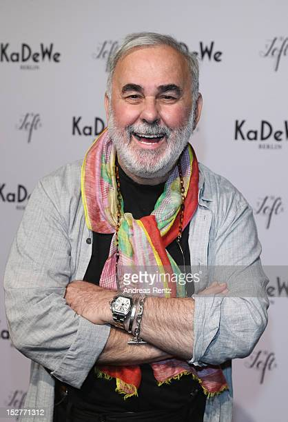 Udo Walz attends the grand opening of 'The New Luxury Beauty The Loft' at KaDeWe department store on September 25 2012 in Berlin Germany