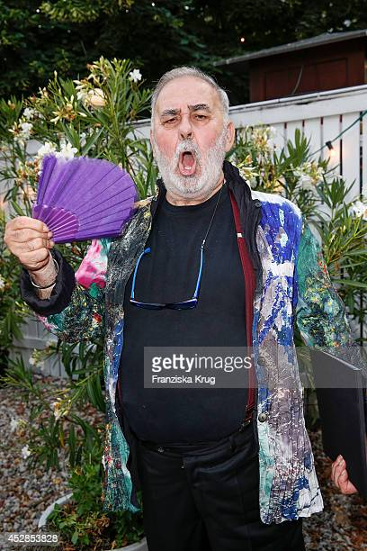 Udo Walz attends the Udo Walz Celebrates His 70th Birthday at BAR jeder Vernunft on July 28 2014 in Berlin Germany