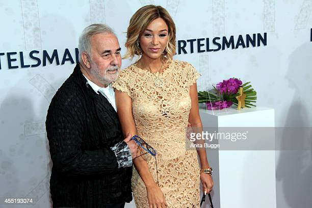 Udo Walz und Verona Pooth attend the Bertelsmann Summer Party at the Bertelsmann representative office on September 10 2014 in Berlin Germany