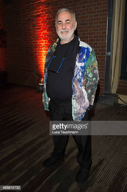 Udo Walzattends at the Ursula Karven Celebrates 50th Birthday on September 20 2014 in Berlin Germany