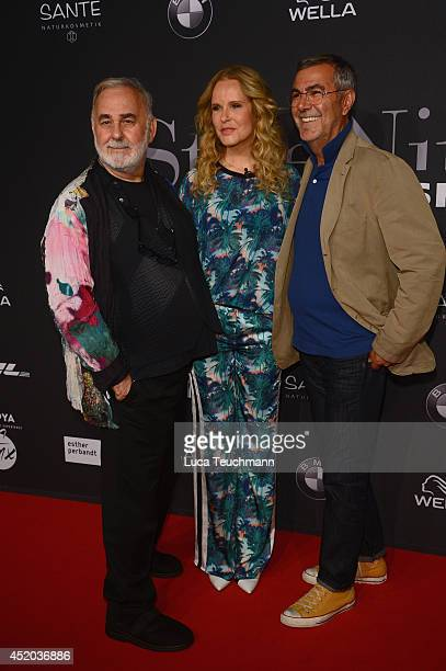 Udo WalzKatja Burkard and Norbert Medus attend the Michalsky Style Night at Tempodrom on July 11 2014 in Berlin Germany