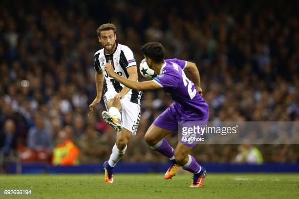 Uefa Champions League Final Juventus v Real Madrid Claudio Marchisio of Juventus at National Stadium in Cardiff Wales on June 3 2017