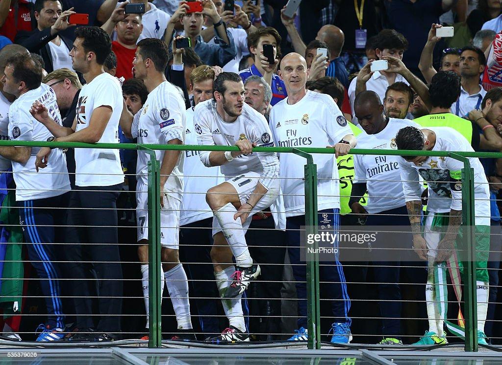 UEFA Detail: Real Madrid V Club Atletico De Madrid