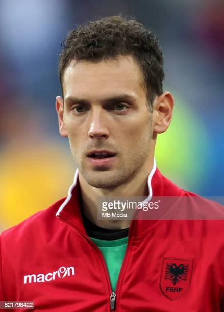 Uefa World Cup Fifa Russia 2018 Qualifier / 'nAlbania National Team Preview Set 'nEtrit Berisha