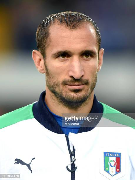 Uefa World Cup Fifa Russia 2018 Qualifier / 'nItaly National Team Preview Set 'nGiorgio Chiellini