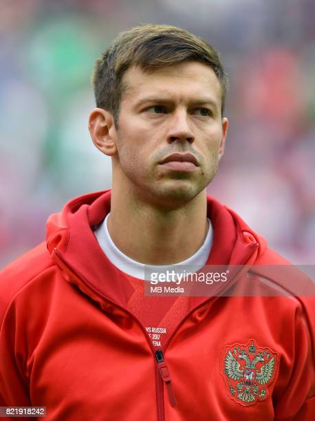 Uefa World Cup Fifa Russia 2018 Qualifier / 'nRussia National Team Preview Set 'nFyodor Mikhaylovich Smolov