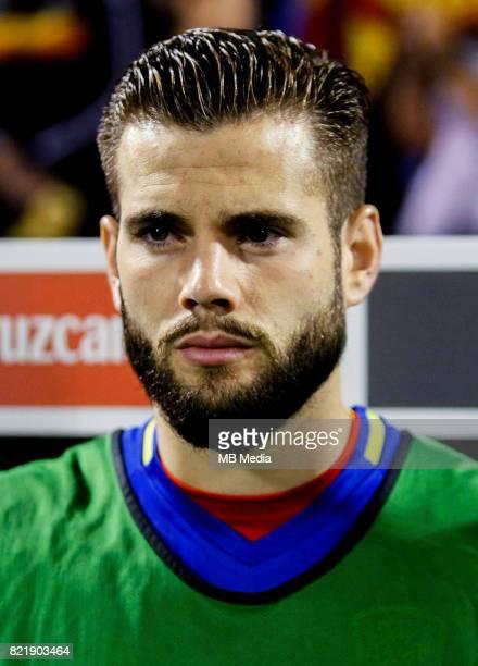 Uefa World Cup Fifa Russia 2018 Qualifier / 'nSpain National Team Preview Set 'nJose Ignacio Fernandez Iglesias Nacho Fernandez