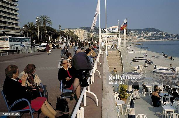 Uferpromenade 'Promenade des Anglais' Mai 1999