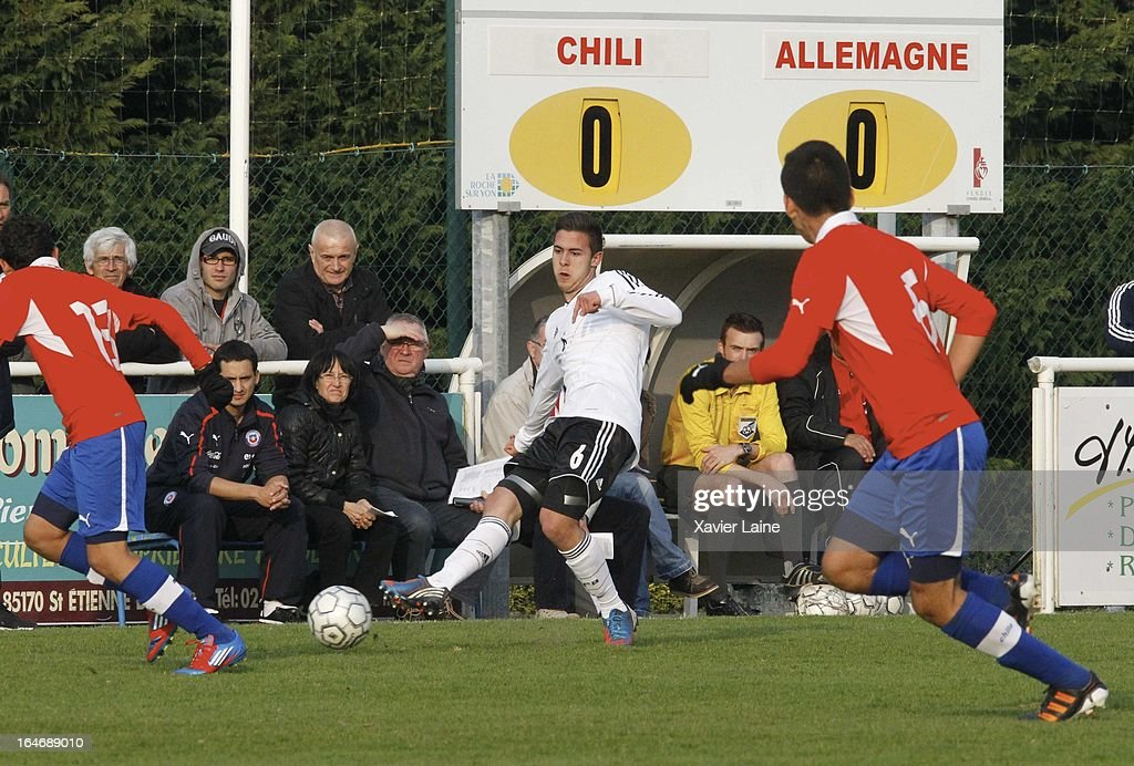 Ufuk Akyol during the International Friendly match between U16 Germany and U16 Chile on March 26, 2013 in La Roche-sur-Yon, France.