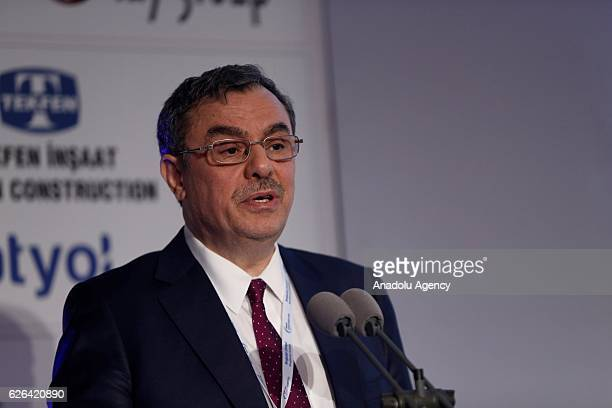 Ufuk Uyan Chief Executive Officer at Kuveyt Turk Katilim Bankasi AS attends a session titled 'Towards an Islamic Finance and Impact Investing...