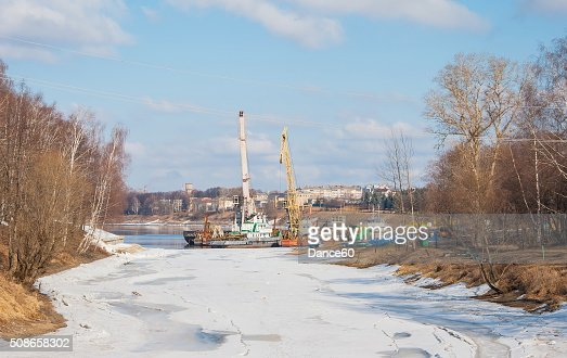 Uglich early spring : Stock Photo