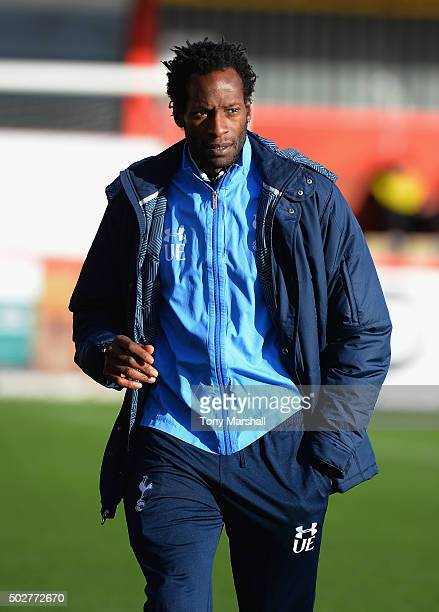 Ugo Ehiogu of Tottenham Hotspur during the Barclays U21 Premier League International Cup match between Tottenham Hotspur U21 and Porto U21 at The...