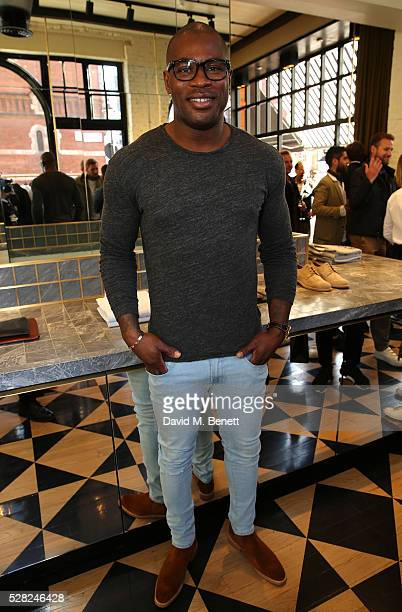 Ugo Monye attends Ami Mayfair Store Opening on May 4 2016 in London England