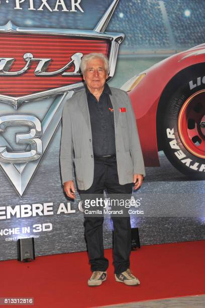 Ugo Pagliai attends a photocall for Cars 3 on July 12 2017 in Rome Italy