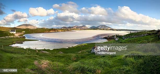 Uig bay in the Outer Hebrides, Scotland