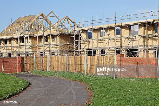 uk houses being built