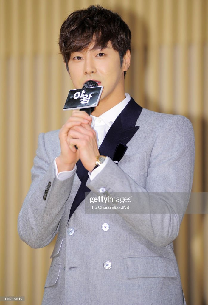 U-Know attends the SBS Drama 'Yawang' press conference at SBS Building on January 9, 2013 in Seoul, South Korea.